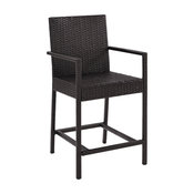 Palm Harbor Outdoor Wicker Counter Bistro Stool, Set of 2