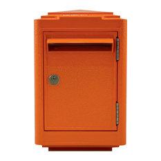 French 1945 Letter Box, Orange