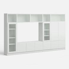 Murs tv et meubles tv modernes for Meuble tv multimedia