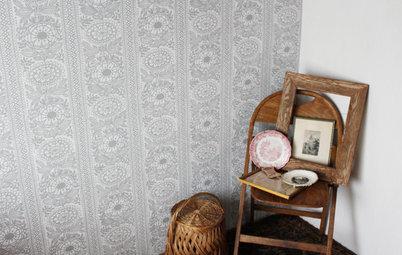 プチプライス&スモールスペースのDIYリフォーム:自宅で挑戦、壁紙の貼り替え