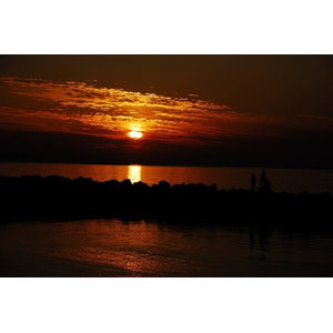 "Pixtury ""Sunset in Sicily"" Photograph, Canvas Print, 40x60 cm"
