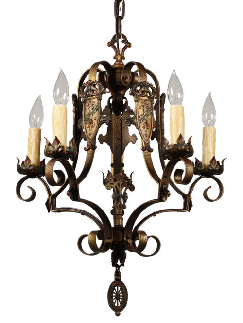 Antique spanish revival lighting for Spanish revival lighting