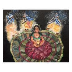 """Praying With Spirits"" Oil Painting"