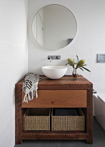 Contemporary Bathroom by Minett Studio Architecture and Design