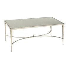 mirrored-top coffee tables | houzz