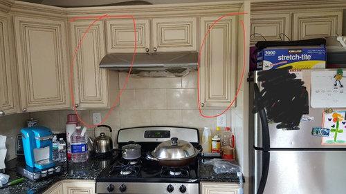 Kitchen Cabinet Size Help