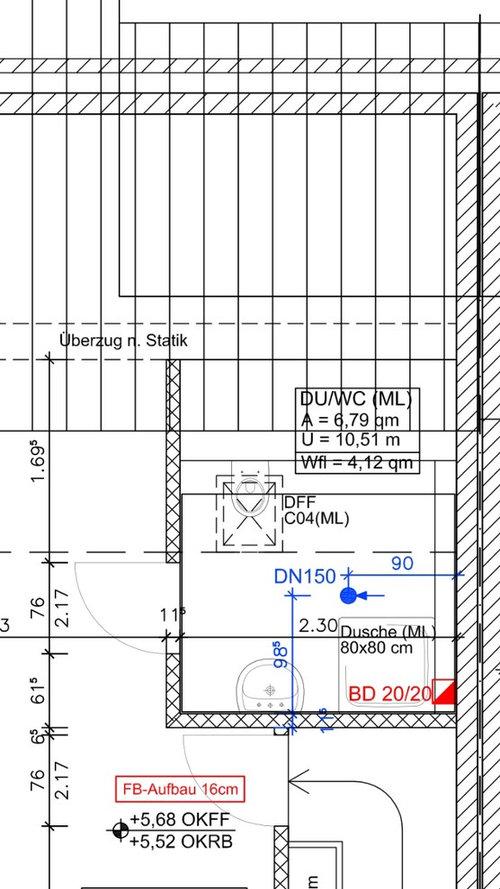 Kleines Bad 4qm - ist dieser Grundriss optimal?