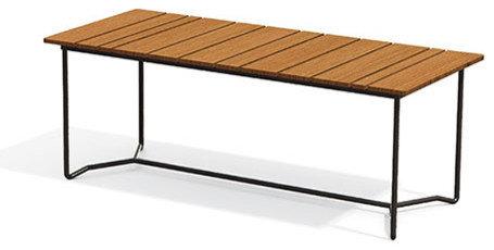 Grinda Bord 85x200cm, Teak - Udendørs spiseborde