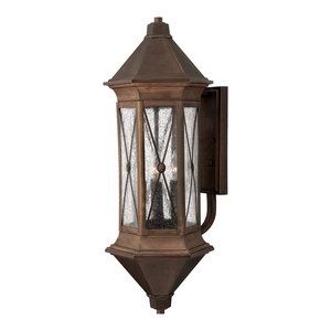 Brighton Outdoor Wall Light, Extra Large