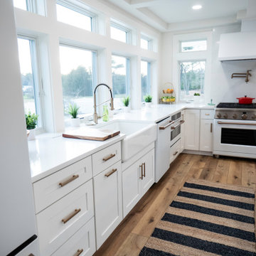 Kitchen expansion within existing footprint