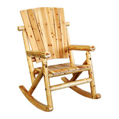 Leigh Country   Leigh Country Tx95100 Aspen Porch Rocker Chair, Single    Outdoor Rocking Chairs