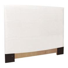 Avanti White Full-Queen Slipcovered Headboard