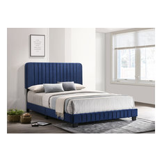 Lodi Full Bed, Navy Blue
