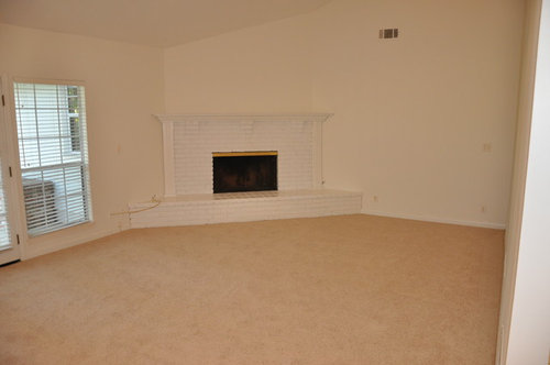 What To Do With White Brick Fireplace Just Bought Home