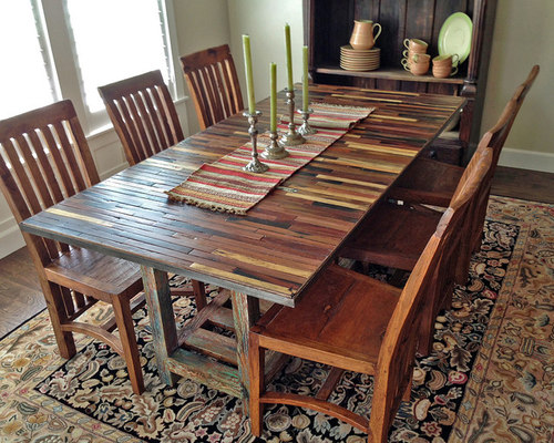 Great Salvaged / Reclaimed Boat Wood Dining Table (custom)   Dining Tables