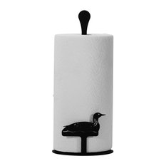 Wrought Iron Counter Top Loon Paper Towel Holder