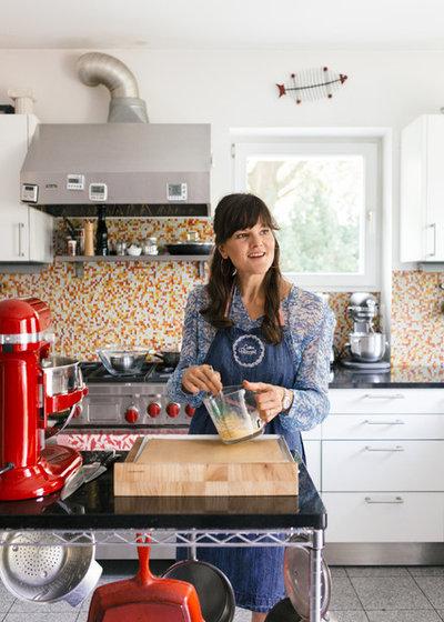 houzzbesuch bakingqueen cynthia barcomi und ihr zuhause mit geschmack. Black Bedroom Furniture Sets. Home Design Ideas