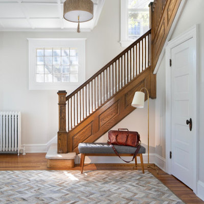 Inspiration for a transitional home design remodel in DC Metro