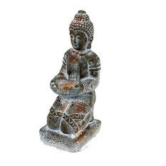 "Sitting Buddha Figurine, 8""x18"""