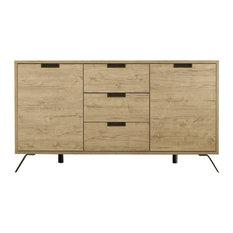 Parma Sideboard, Light Oak