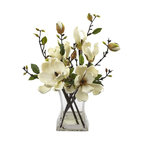 Magnolia Arrangement, Vase