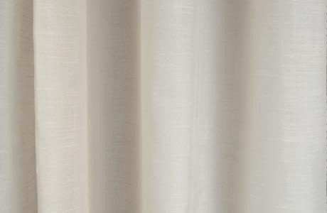 leno sheer drapery in white drapery fabric
