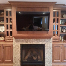 Stone Creek Buildrs Custom Entertainment Center