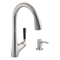 Kohler - Kohler 1-Handle Stainless Steel Kitchen Faucet R562-SD-VS - Kitchen Faucets