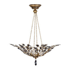 Fine Art Lamps Crystal Laurel Gold Collection Pendant
