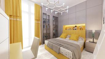 Двухэтажная квартира в Ялте