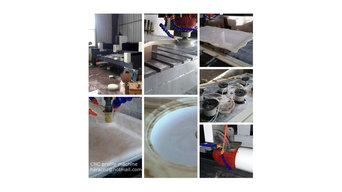 CNC stone profile making machine