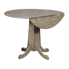 """Sunset Trading French Twist 40"""" Round Drop Leaf Dining Table GL-3159"""