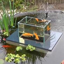 Above water fish tank