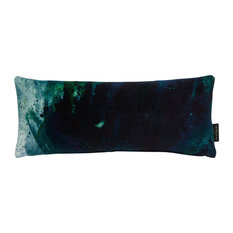 Beyond Nebulous Cushion, Blue and Green