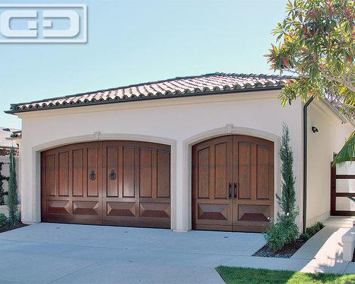 Orange county mediterranean garage doors matching for Mediterranean garage doors