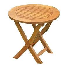 International Caravan   Tahiti Round Table   Folding Tables