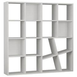 Contemporary Bookcases by HOCUSPICUS LTD