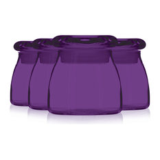 Table Top King   Libbey 4 _  Spice Jar With Lid Set Additional Vibrant  Colors
