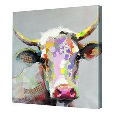 Bob The Steer Canvas Art