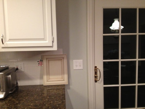 I Like The Cream Better But M Worried It Might Look Dirty Next To Purer White Walls Are Benjamin Moore Gray Owl Light