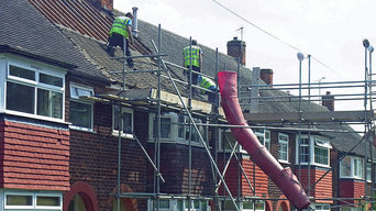 Roof replacement in Broughton