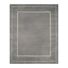 Chatham Hand Tufted Rug, Silver/Ivory, 8'x10'