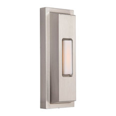 Craftmade Concealed Mounting Surface Mount Stepped Rectangle,  Polished Nickel