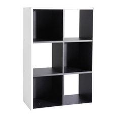 Grafit Shelving Unit, 6 Shelves