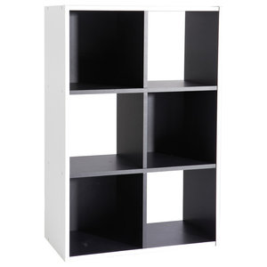 Grafit Shelving Unit, 6 Shelves