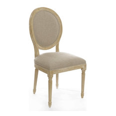 Traditional Oval Back Dining Room Chairs | Houzz