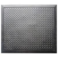 """3/4"""" Thick Non-Slip Premium Anti Fatigue Ergonomic Comfort Floor, Black"""