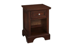 Hawthorne Collections 1-Drawer Nightstand, Cherry