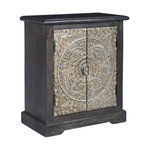 Melisandre Wood Cabinet - Rustic - Accent Chests And Cabinets - by Teton Home