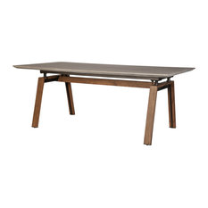 "Caleb Concrete 79"" Dining Table"